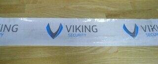 Trükiga logolint - Viking security