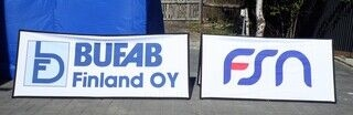 Logoga softbänner - Bufab, FSN