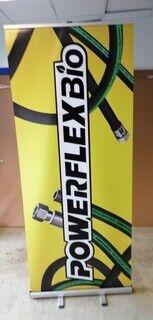 Roll up bänner PowerFlexBio