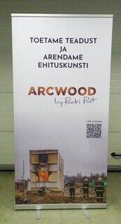 Roll up bänner - ARC Wood