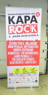 Roll up stend - Kapa Rock