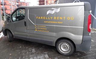 Reklaamkleebised kaubikul - Farelly Rent