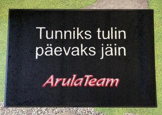 Uksematt logoga - Arula Team