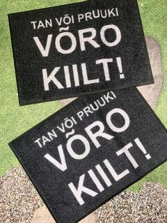 Tan või pruuki Võro Kiilt!