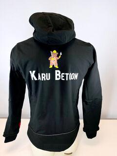 Logoga dressipluus - Karu Betoon