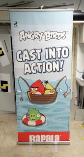 Angry Birds roll up
