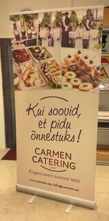 Carmen Catering roll up