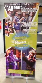 Tampere Salsafest roll up