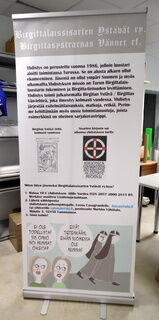 Birgittalaissisarten Ostäbät roll up