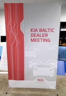 Kia Baltic x-bänner