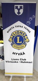 Roll-Up 850x2000 mm Lions Club Ylivieska Huhmari