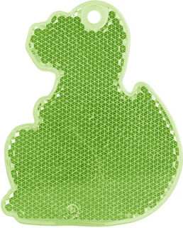 Helkur dinosaurus 56x70mm roheline