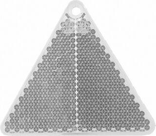 Helkur kolmnurk 67x59mm läbipaistev