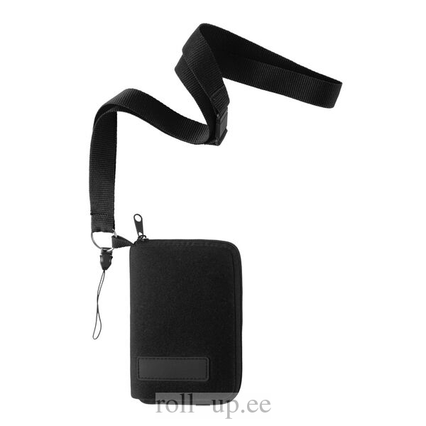 cf154d9e6c8 ROLLUP - Carry case for mobile phone with headphones outlet, lanyard -